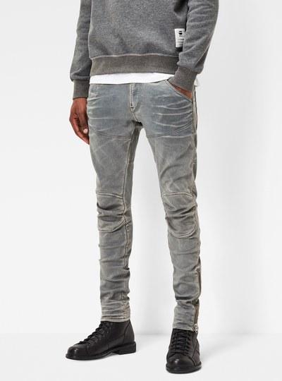 5620 3D Ankle Zip Super Slim Jeans