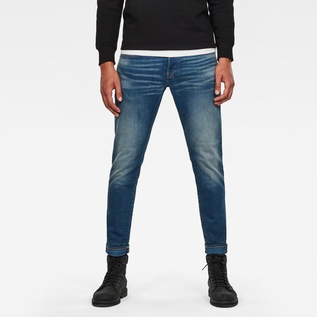 g star raw men jeans 3301 slim jeans medium aged. Black Bedroom Furniture Sets. Home Design Ideas