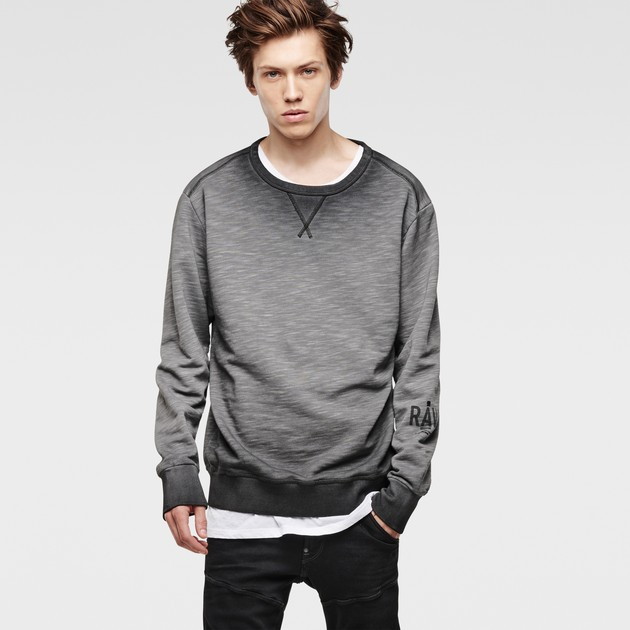 g star raw men sweatshirts hoodies hav round neck. Black Bedroom Furniture Sets. Home Design Ideas