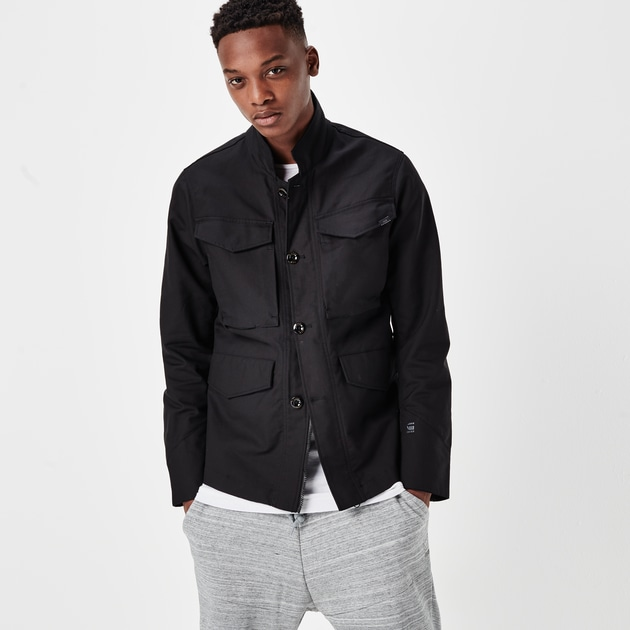 star raw men jackets blazers vodan worker blazer black. Black Bedroom Furniture Sets. Home Design Ideas