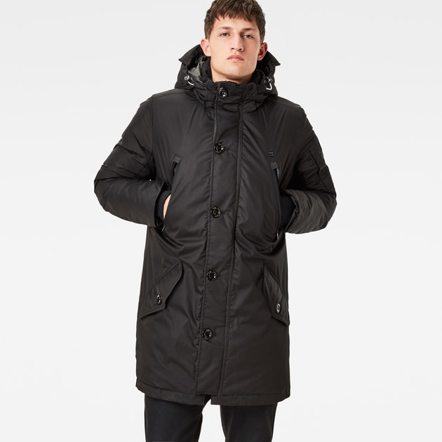g star raw men winterjackets coats whistler hooded. Black Bedroom Furniture Sets. Home Design Ideas