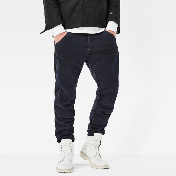 5620 G-star Elwood 3D Tapered Trainer Color Jeans