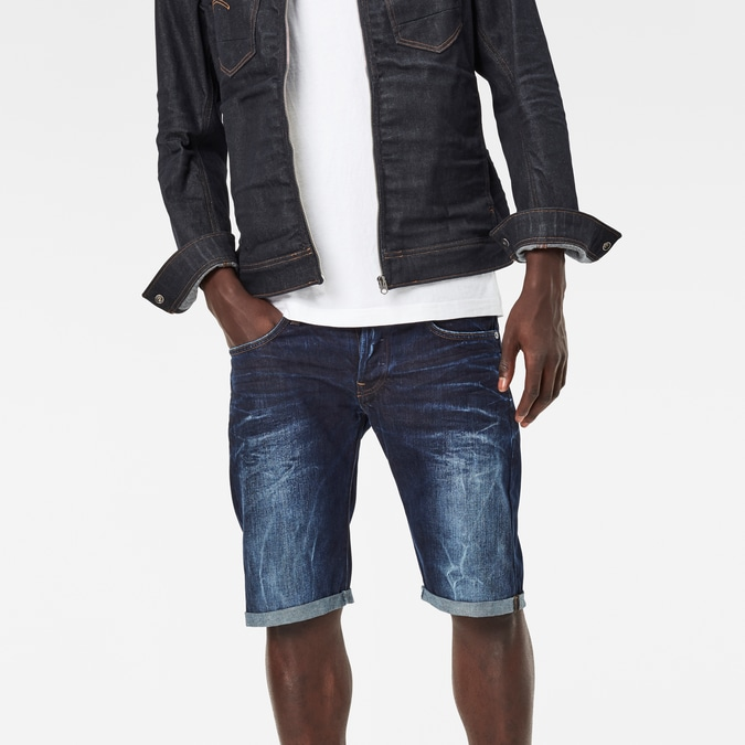 3301 Low Tapered 1/2 Length Shorts