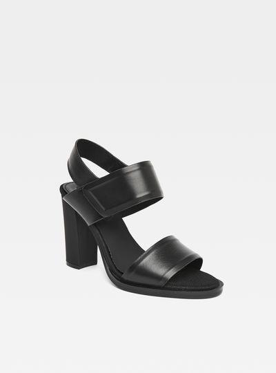 G-Star CORE STRAP - Sandals - black RlbrfSfGv