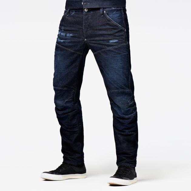G 3D Low 5620 aged RAW® G Star Tapered dk Elwood Star Jeans 7UUdcwtqAx