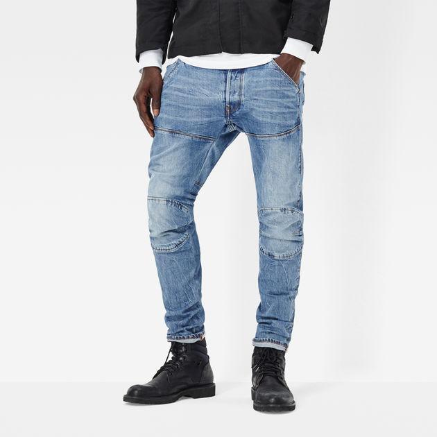RAW® Slim Star Star 3D aged Jeans G 5620 G medium Elwood wpqvI
