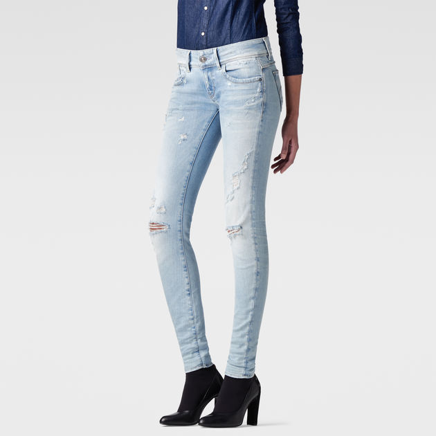 G-Star Womens Lynn Mid Coj Wmn New Skinny Jeans G-Star RMsO7H