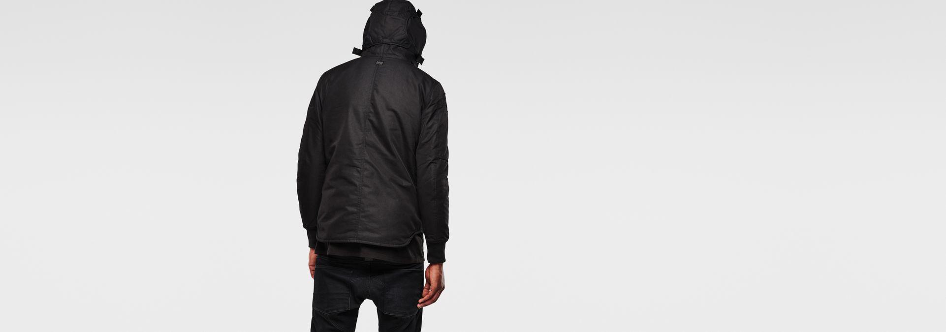 Jacket Hooded Lightweight Black Batt G Raw® Star vERwc 59cd38730aed
