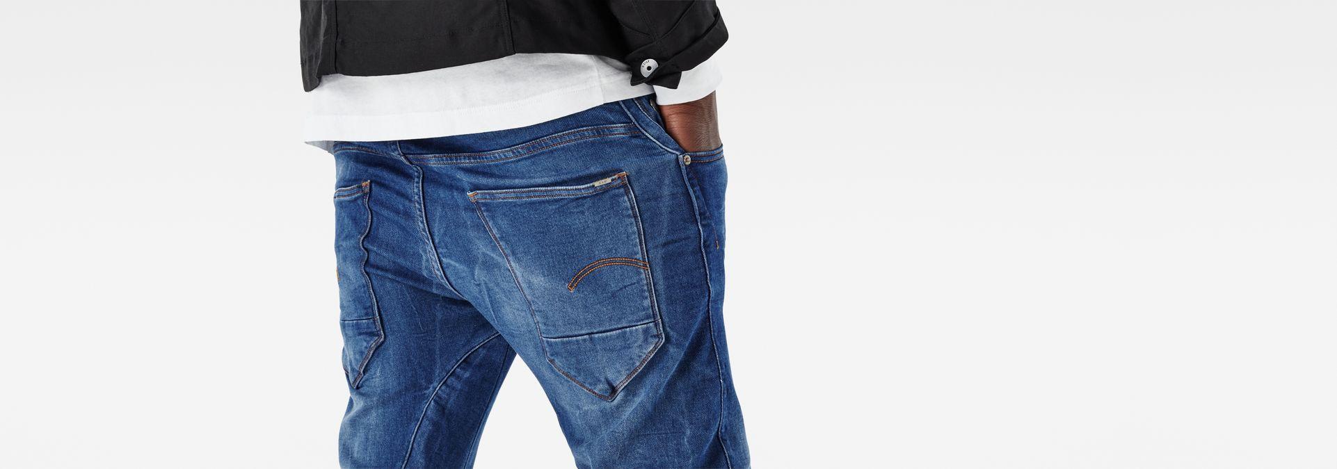 Aged G Arc Jeans Sport 3d Star Tapered Medium Raw® qqBXS