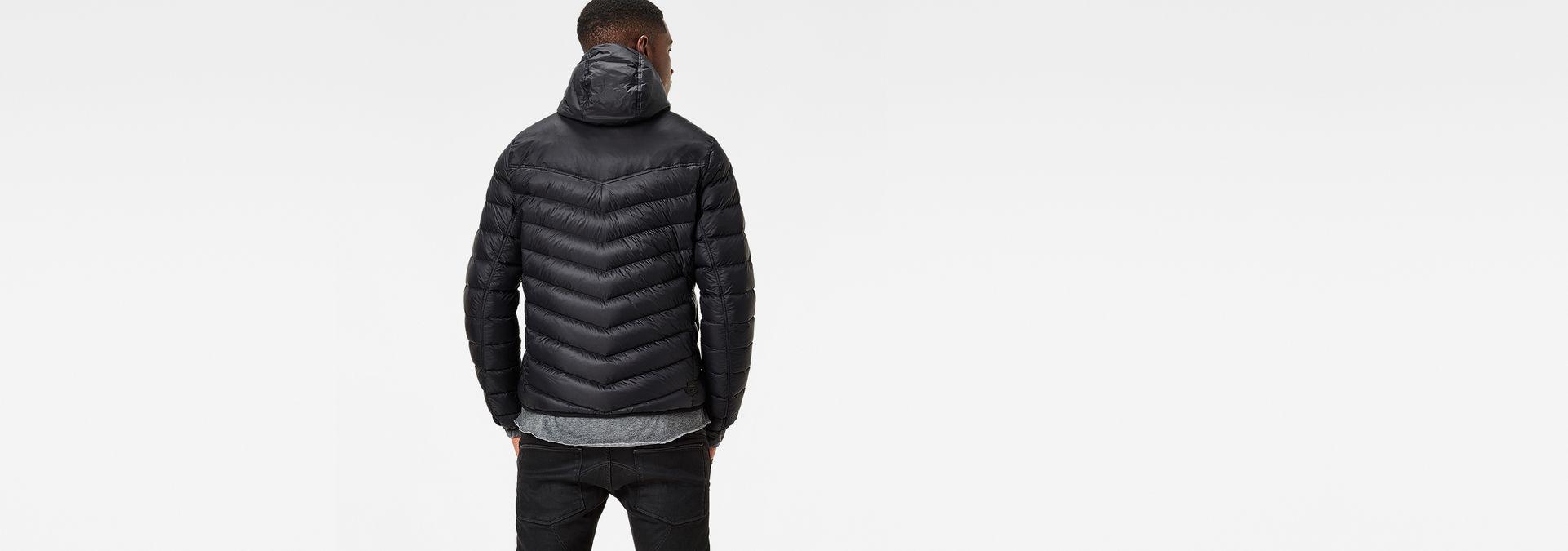 Raw® Hooded Solid G Star Jacket Down Black Attacc B1qwvq