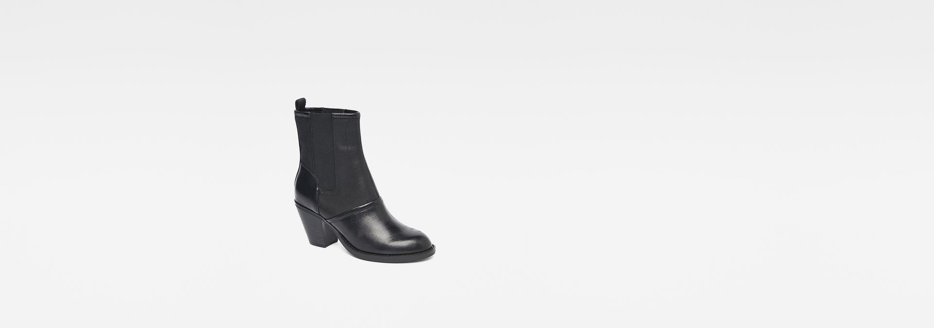 G-star Lynn Chelsea Botte Chaussures Noir zOmw2