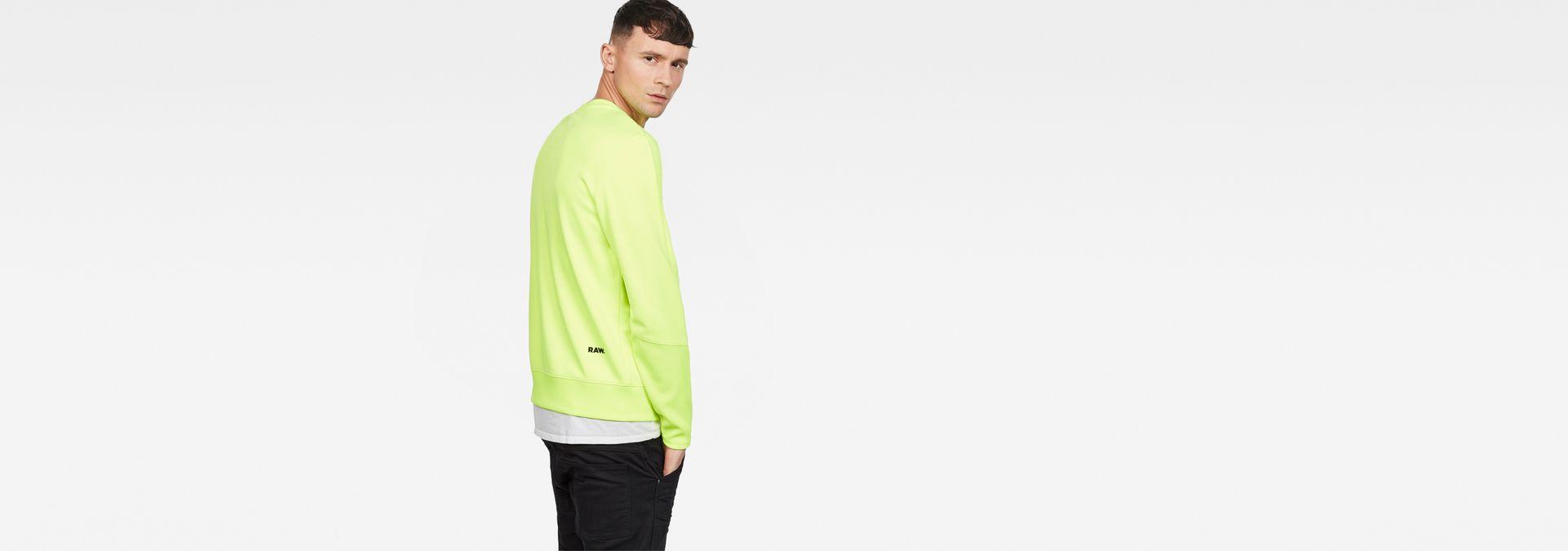 G-Star CARNIX - Sweatshirt - neon yellow Qualité Originale Prix Des Prix Pas Cher gdRnLYs