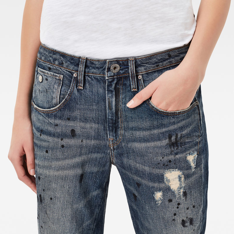 Boyfriend Jeans Star Length G Waist Raw Low 78 3d Arc qxYgR4vwnt