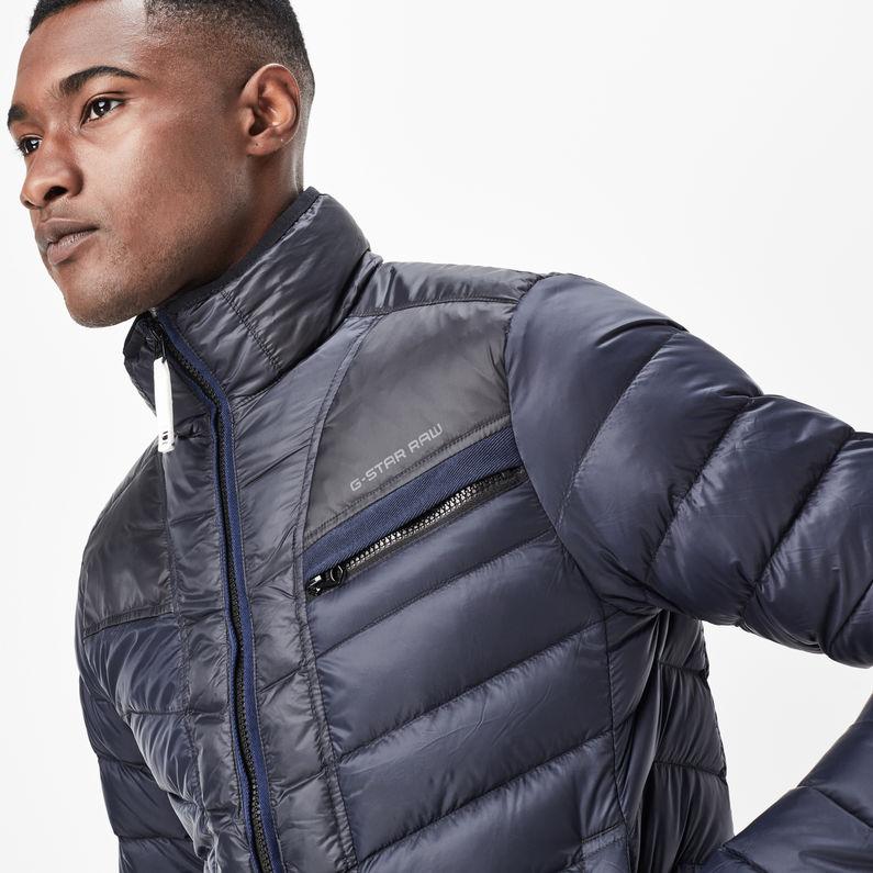 G Star Colorblock Mazarine Attacc Jacket Raw® Down Blue BqnHw4