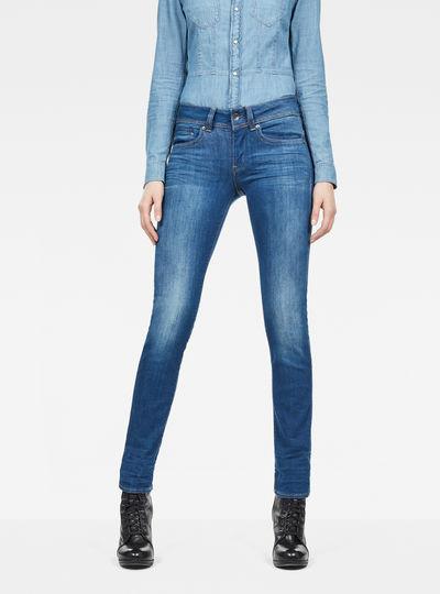 Billig Zum Verkauf Type C Auxilary Components Mid-Waist Skinny Jeans G-Star Wahl Zum Verkauf 8kjCN