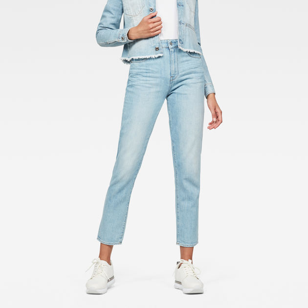 3301 High waist Straight 90s Ankle-Cut Jeans G-Star 2kbte