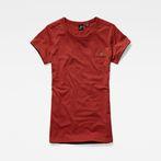 G-Star RAW® Eyben slim r t wmn s/s Red model front