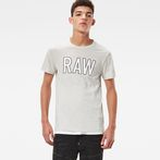 G-Star RAW® Tomeo T-Shirt White model front