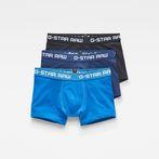 G-Star RAW® Classic Trunks 3-Pack Medium blue front bust