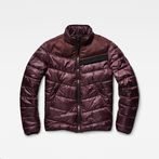 G-Star RAW® Deline quilted jkt pl Purple model front