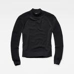 G-Star RAW® Suzaki Mock Turtle Knit Black model front