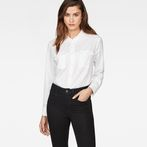 G-Star RAW® Rovic Pleated Shirt White