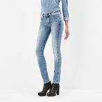 G-Star RAW® 3301 Contour High Waist Skinny Jeans Light blue