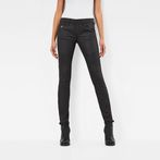 G-Star RAW® 5620 Custom Mid Skinny Jeans Black