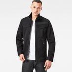 G-Star RAW® Deline Overshirt Black model front