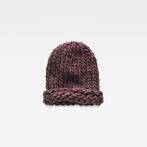 G-Star RAW® Venetio Beanie Purple front flat