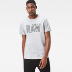 G-Star RAW® Tomeo T-Shirt Grey model front