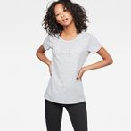 G-Star RAW® Cirst Straight T-Shirt Grey model front
