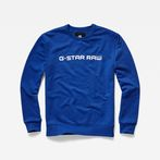 G-Star RAW® Loaq r sw l/s Medium blue model front