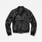G-Star RAW® Strett Slim Bomber Black model front