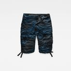 G-Star RAW® Rovic Loose 1/2-Length Shorts Dark blue model front