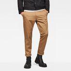 G-Star RAW® Bronson Slim Chino Brown model front