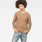 G-Star RAW® RC Suzaki Knit Brown model front