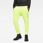 G-Star RAW® Motac Deconstructed Skinny Sweatpants Yellow model front