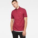 G-Star RAW® Dunda Polo Red model front