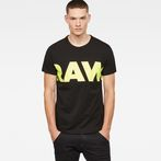 G-Star RAW® Vilsi T-Shirt Black model front