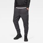 G-Star RAW® Doax 3D Tapered Sweatpants Black model front