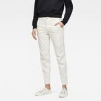 G-Star RAW® Bronson Mid Skinny Chino White model front