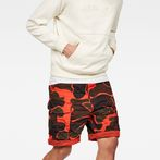 G-Star RAW® Rovic Loose Shorts Orange model front
