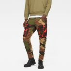 G-Star RAW® Rovic Mix 3D Tapered Green model front