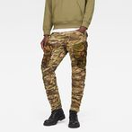 G-Star RAW® Rovic Mix 3D Tapered Pants Beige model front