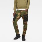 G-Star RAW® Rovic Mix 3D Tapered Pants Green model front