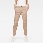 G-Star RAW® Bronson Mid Skinny Chino Beige model front