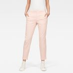 G-Star RAW® Bronson Mid Skinny Chino Pink model front