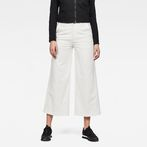 G-Star RAW® Bronson High Loose 7/8-Length Chino White model front