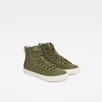G-Star RAW® Scuba II Mid Sneaker Green side view